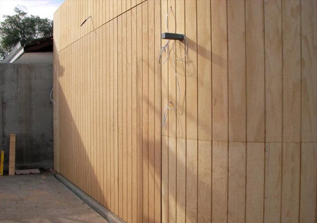 Flush Mounted Tilt Panel Lift Door