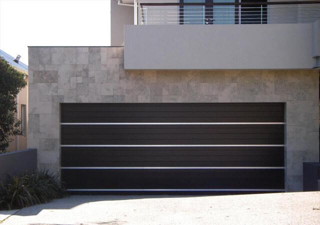 Custom Cedar Doors with Aluminium inserts