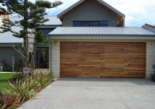 wood look garage doors melbourne
