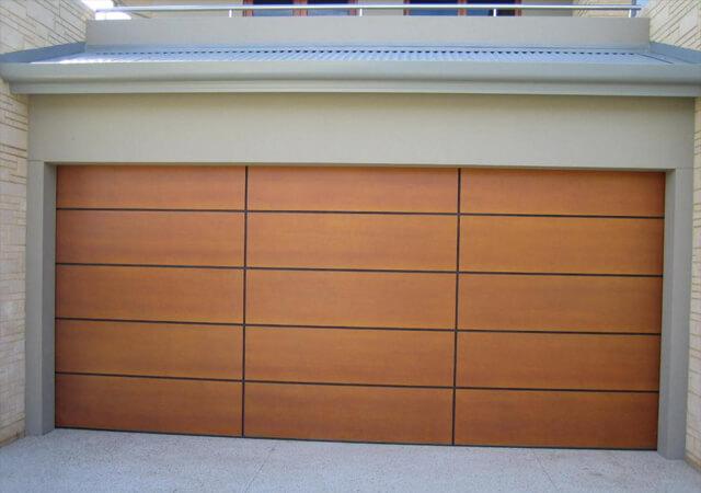 Custom Sectional Ply Door with Rebates