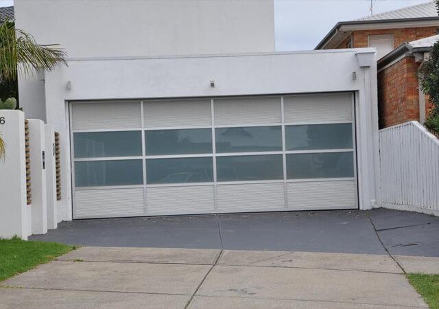 Custom Aluminium Sectional Door