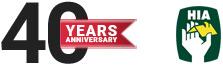40 years Anniversary and HIA logo