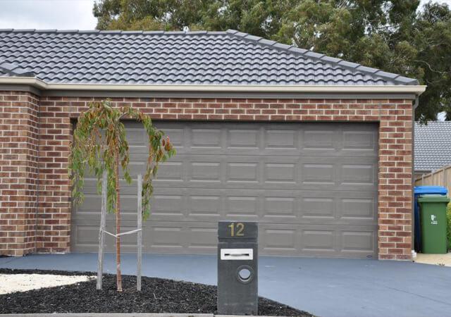 Grey Statesman Sectional Garage Doors Melbourne